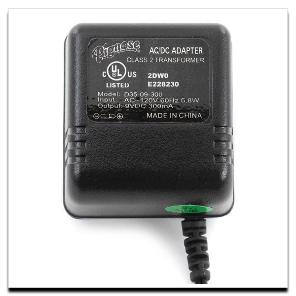 Regulated AC Adapter for 7-100 Series Amps
